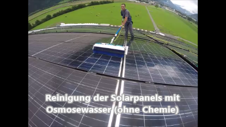 Video: Solarzellenreinigung